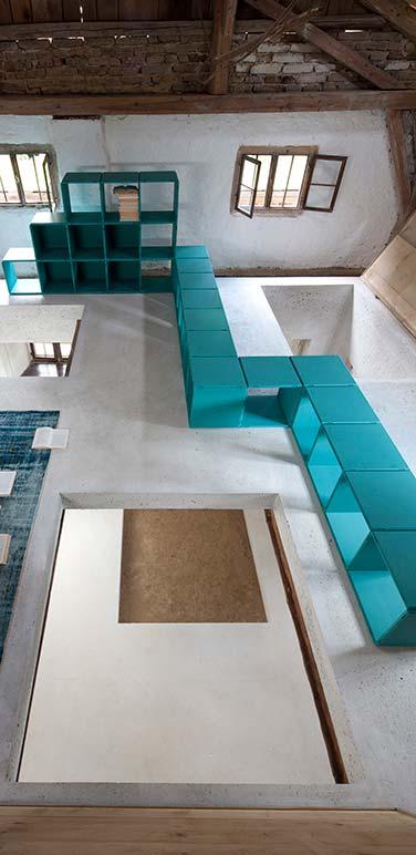qubing designer shelf