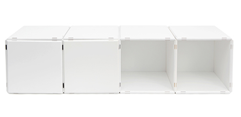 Sideboard or hanging shelf in white