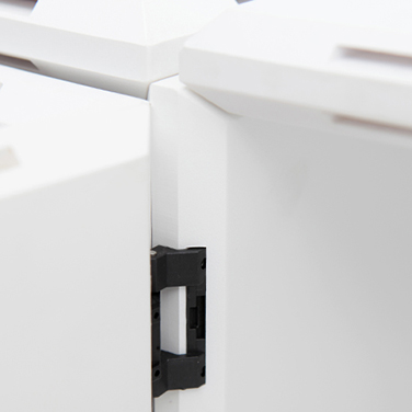 qubing offers top quality door hinges for designer cube shelves